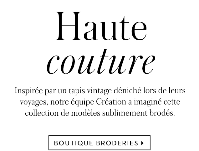 Boutiques Broderies